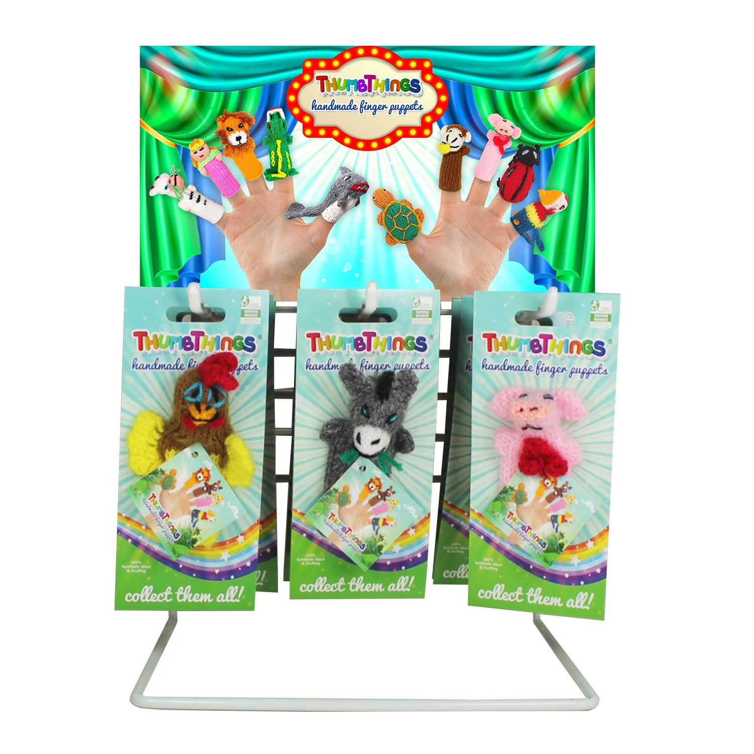 9 - 12 pc. Display Rack with Merch. Kit & FREE PRODUCT   Trada Marketplace