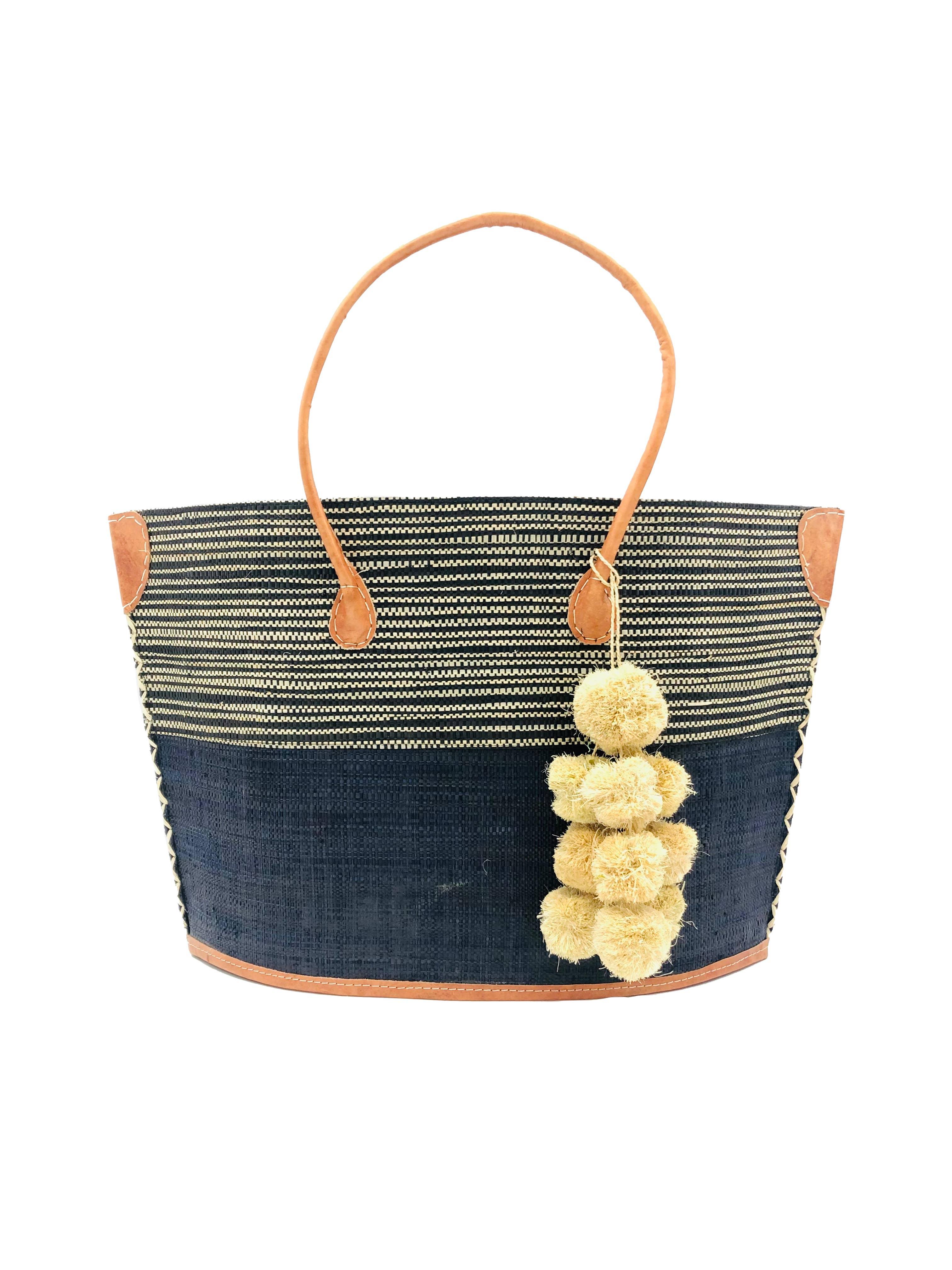 Manhattan Melange Two Tones Straw Bag | Trada Marketplace
