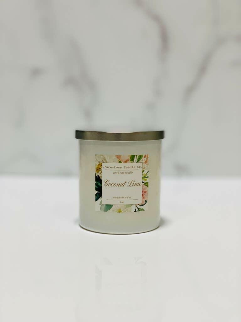 Coconut Lime Candle   Trada Marketplace