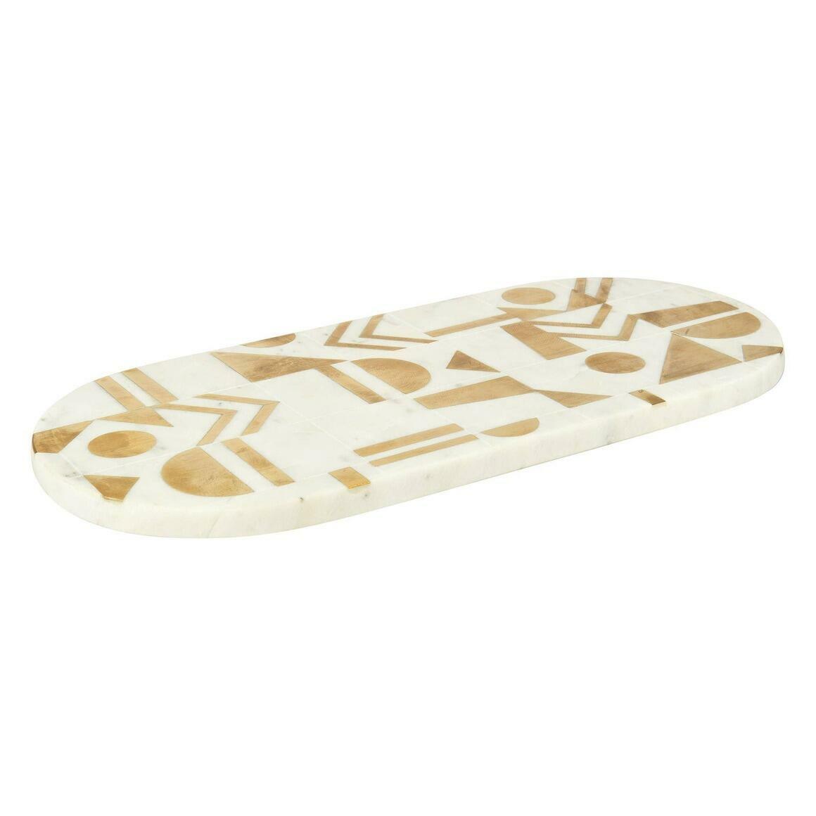 "Tuscany Marble Cheese Board (15""x6.75"")   Trada Marketplace"