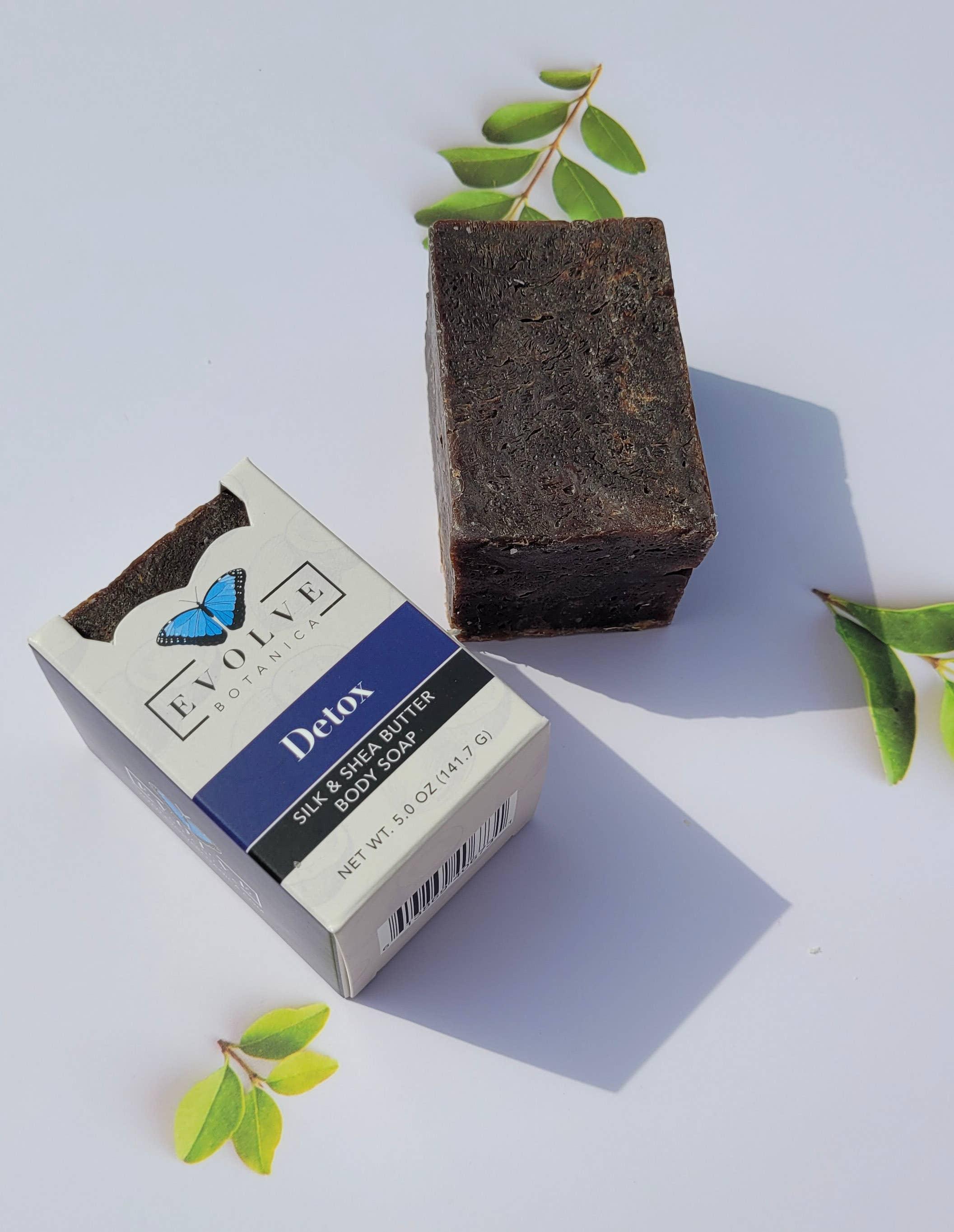 Evolve - Specialty Soap - Detox (Coconut Charcoal) Silk   Trada Marketplace