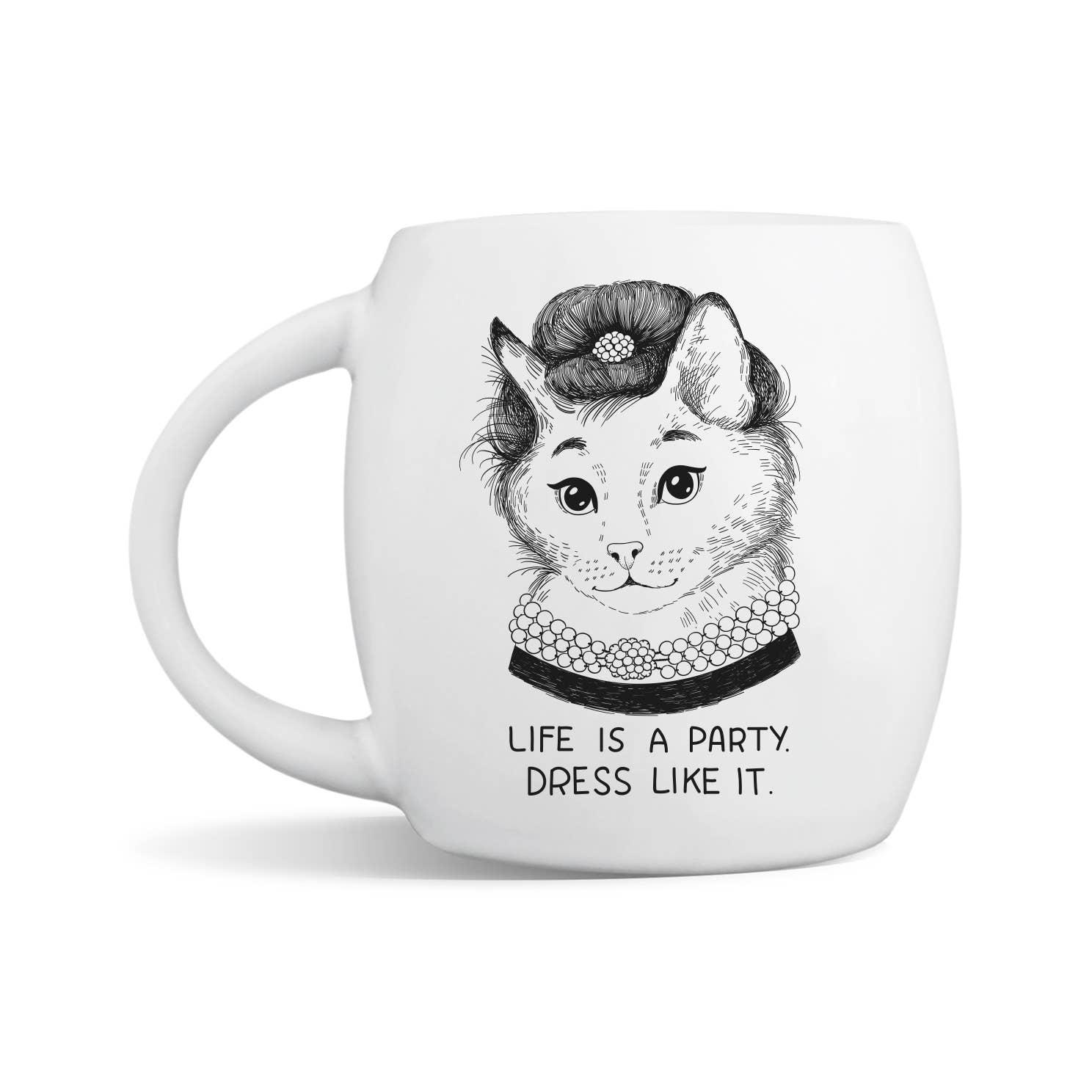 Audrey Hepburn Breakfast at Tiffany's Mug | Trada Marketplace
