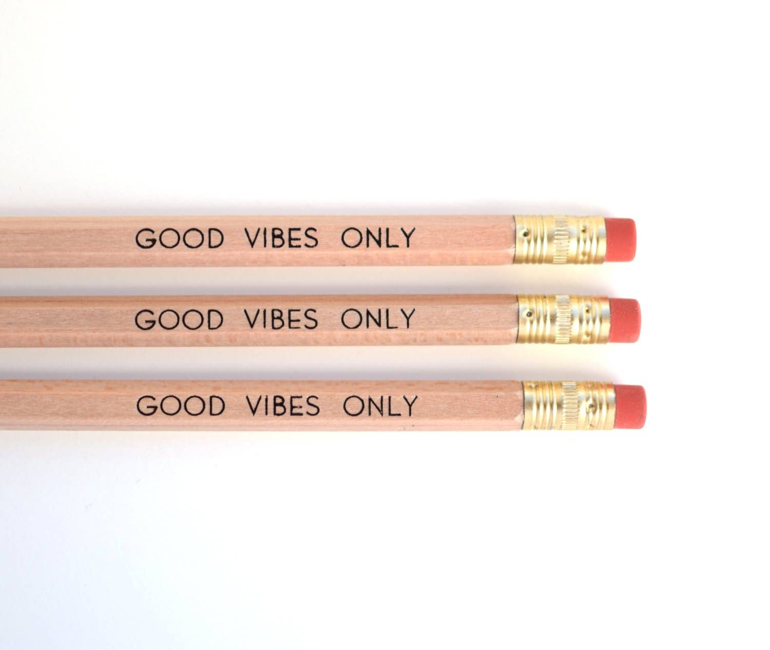 Good Vibes Only Pencil Set | Trada Marketplace