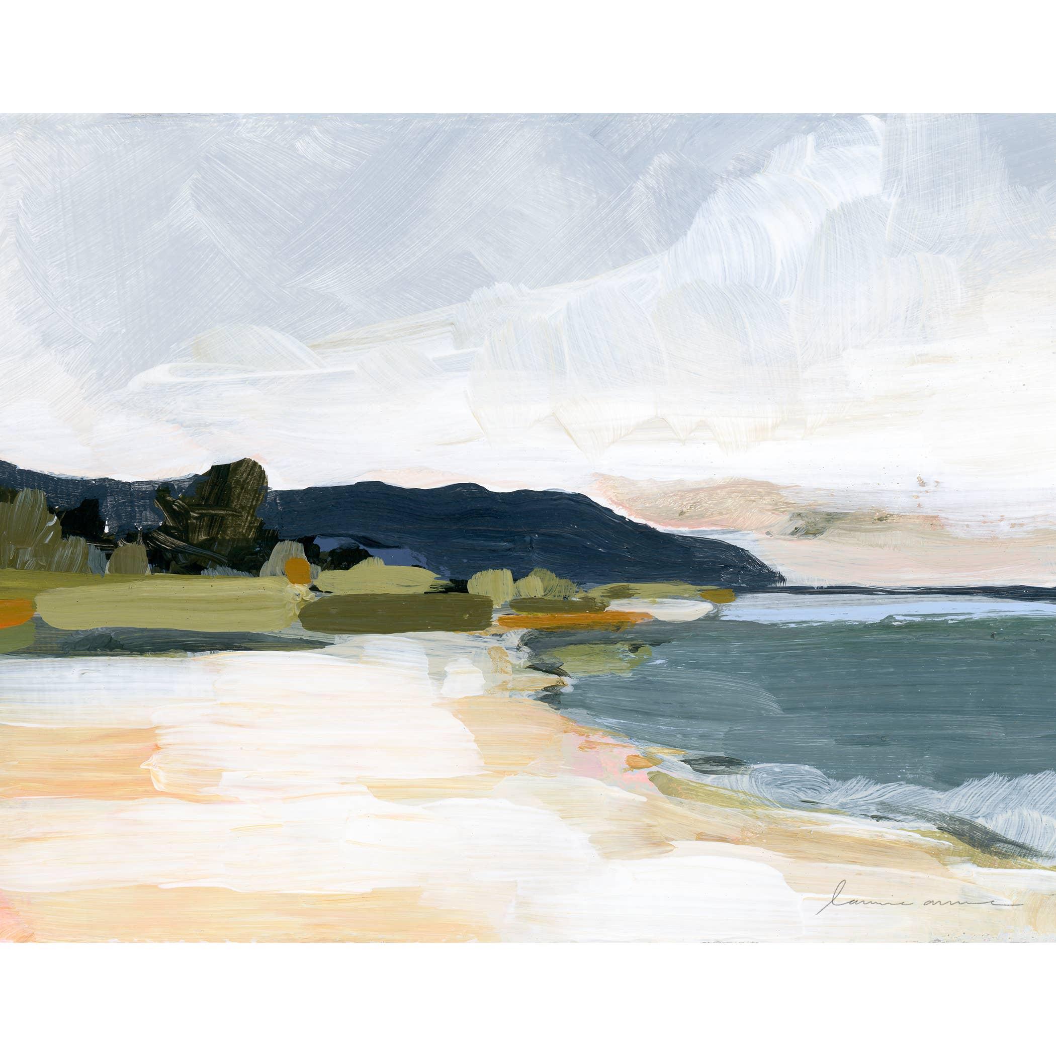 North Shore Horizontal Canvas Print   Trada Marketplace