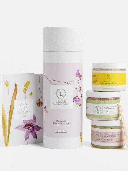 3 Big Jars of relaxation and beauty- bath & body products | Trada Marketplace