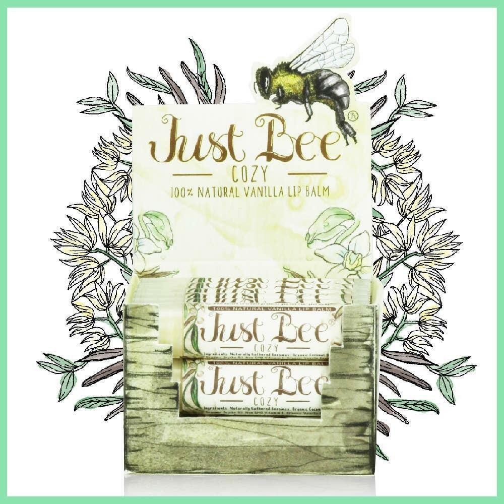Just Bee Cozy Lip Balm  - Vanilla | Trada Marketplace
