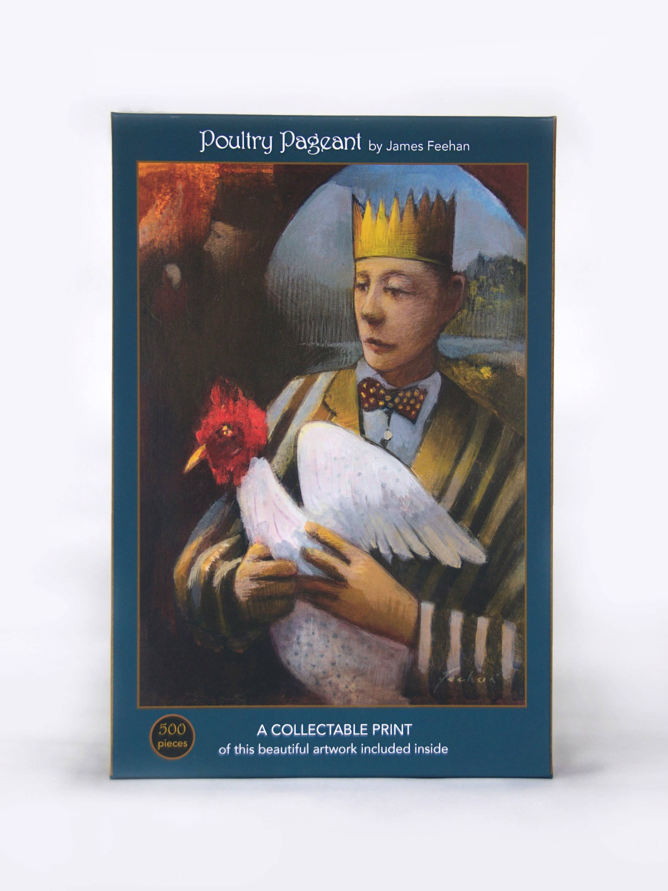 """Poultry Pageant; 500-Piece """"Velvet-Touch"""" Jigsaw Puzzle 