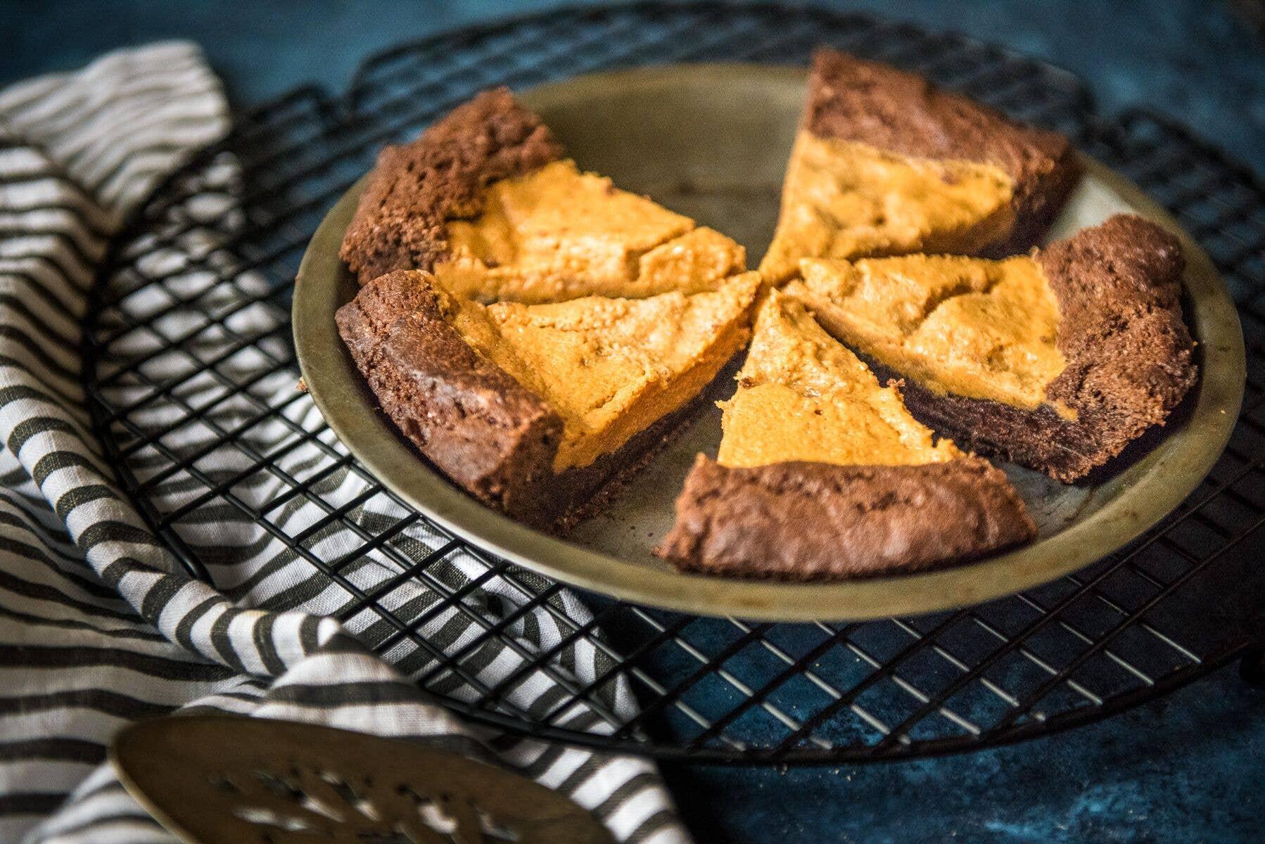 Chocolate Peanut Butter Cookie Pie | Trada Marketplace