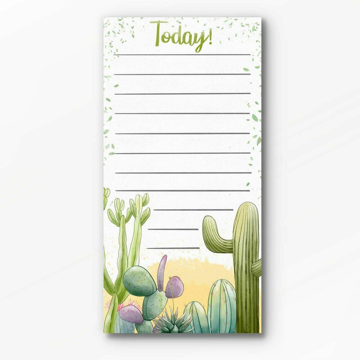 Cactus Notepad | Trada Marketplace