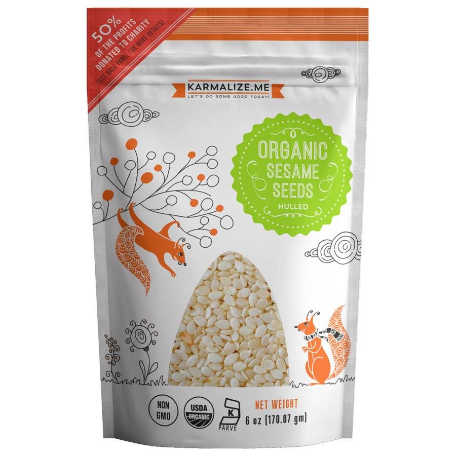 Organic Sesame Seeds - 6 oz | Trada Marketplace