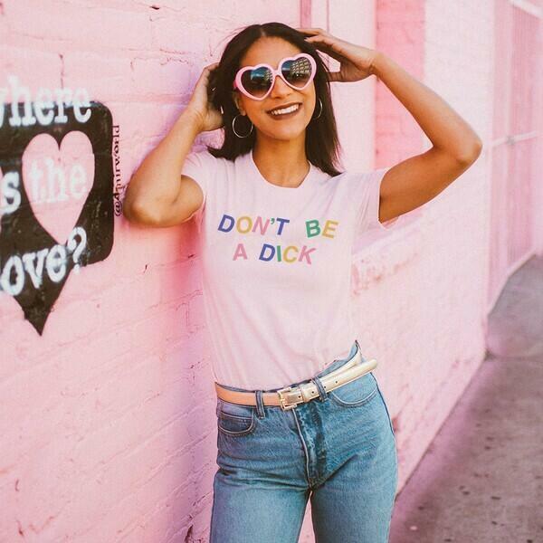 Don't Be A Dick Shirt   Trada Marketplace