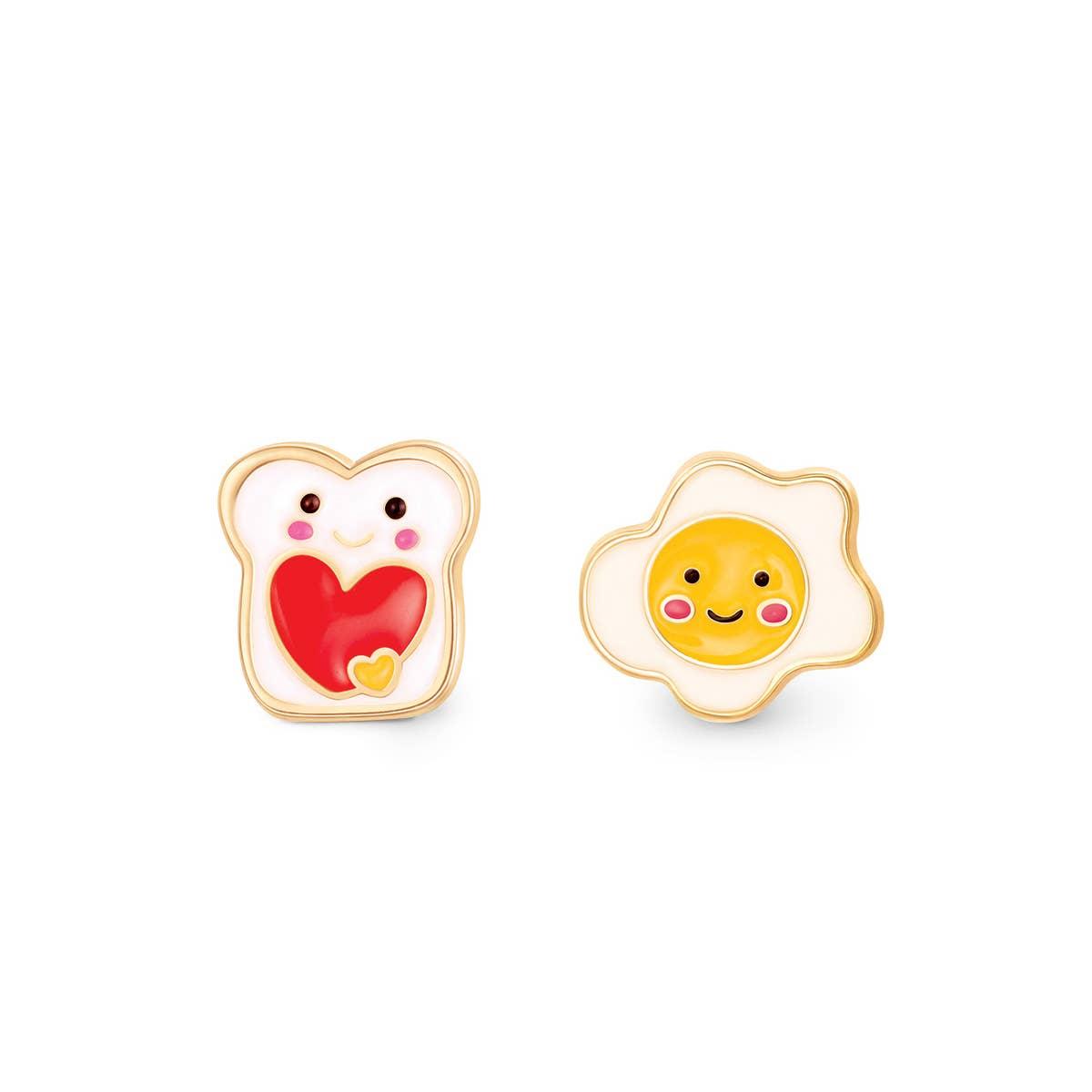 """The Perfect Pair""- Breakfast Favs Cutie Studs   Trada Marketplace"