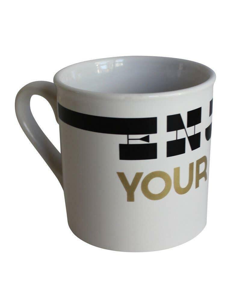 Enjoy Your Life - Porcelain Mug   Trada Marketplace