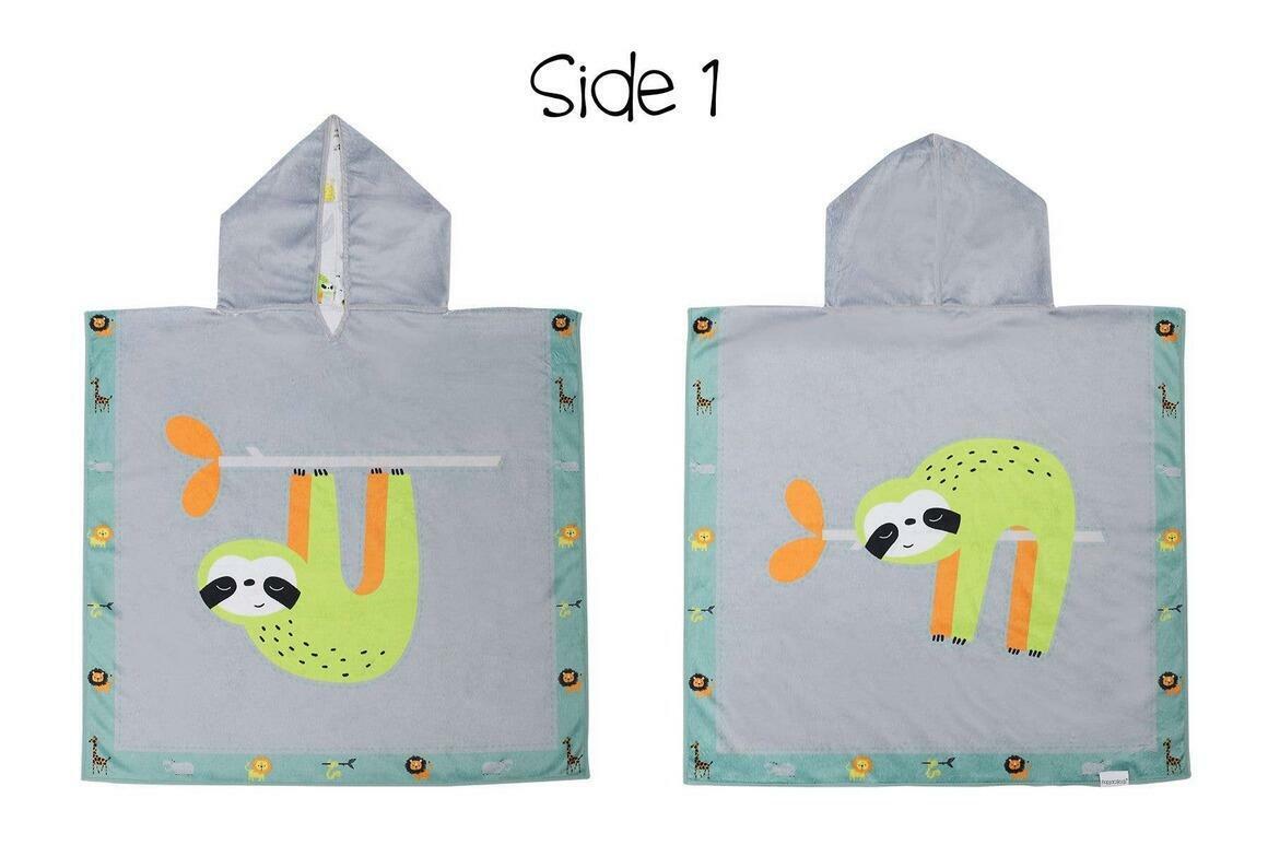Kids UPF50+ Cover-Up - Sloth/Zoo | Trada Marketplace
