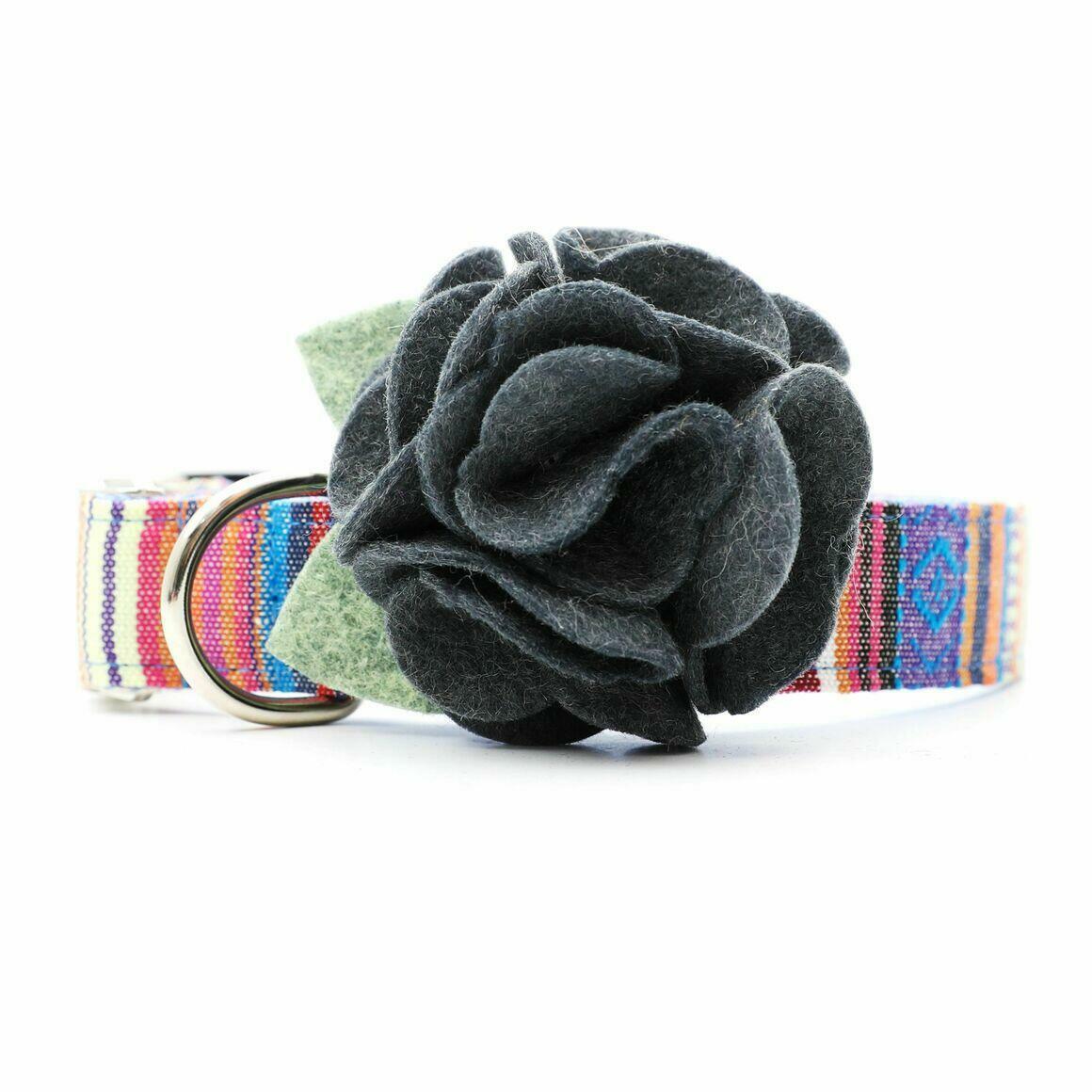Dog Collar Hydrangea Flower - Smoke   Trada Marketplace