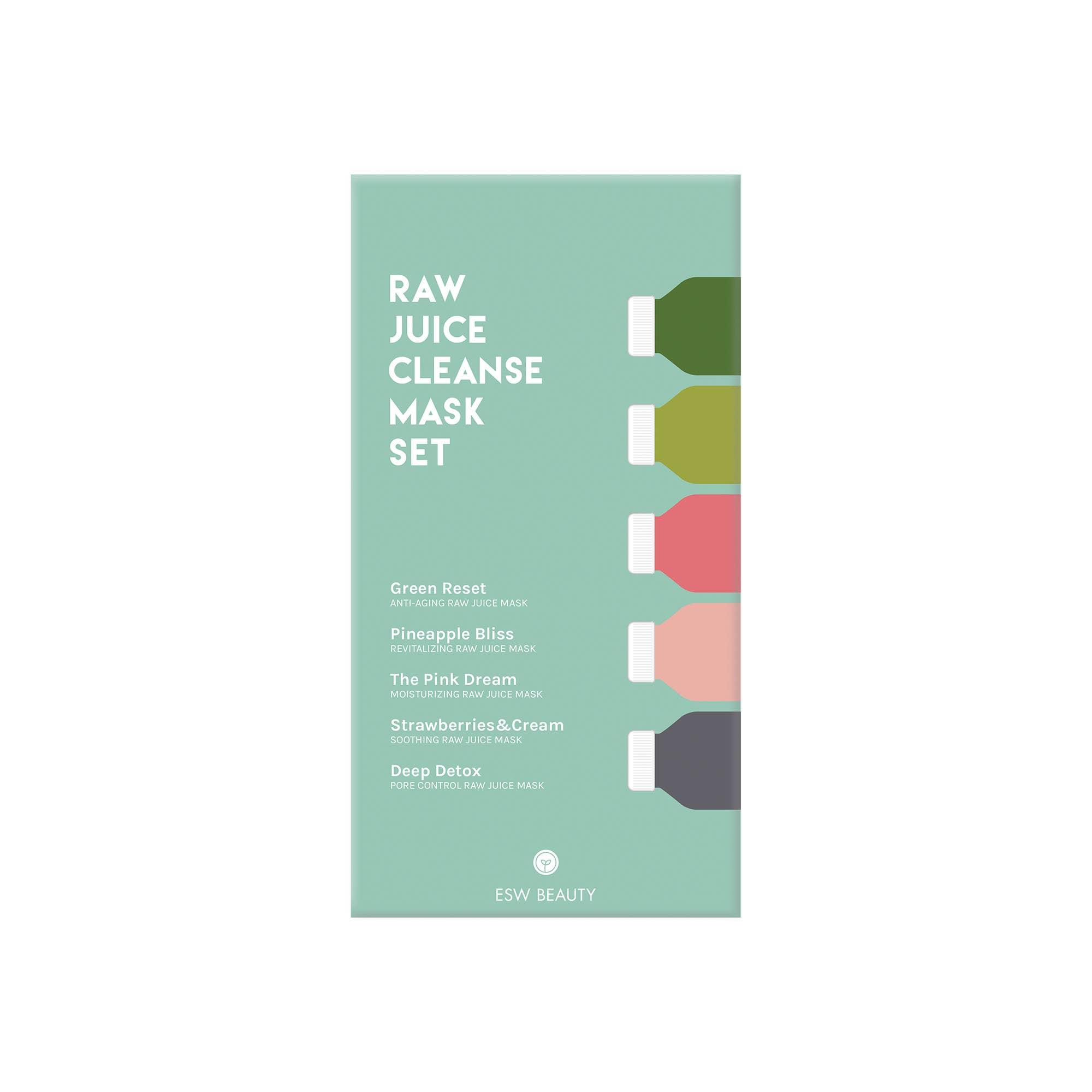 Raw Juice Cleanse Mask Set | Trada Marketplace
