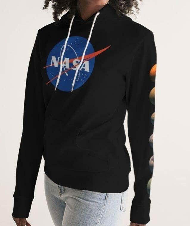 Nasa Planets Women's Hoodie | Trada Marketplace