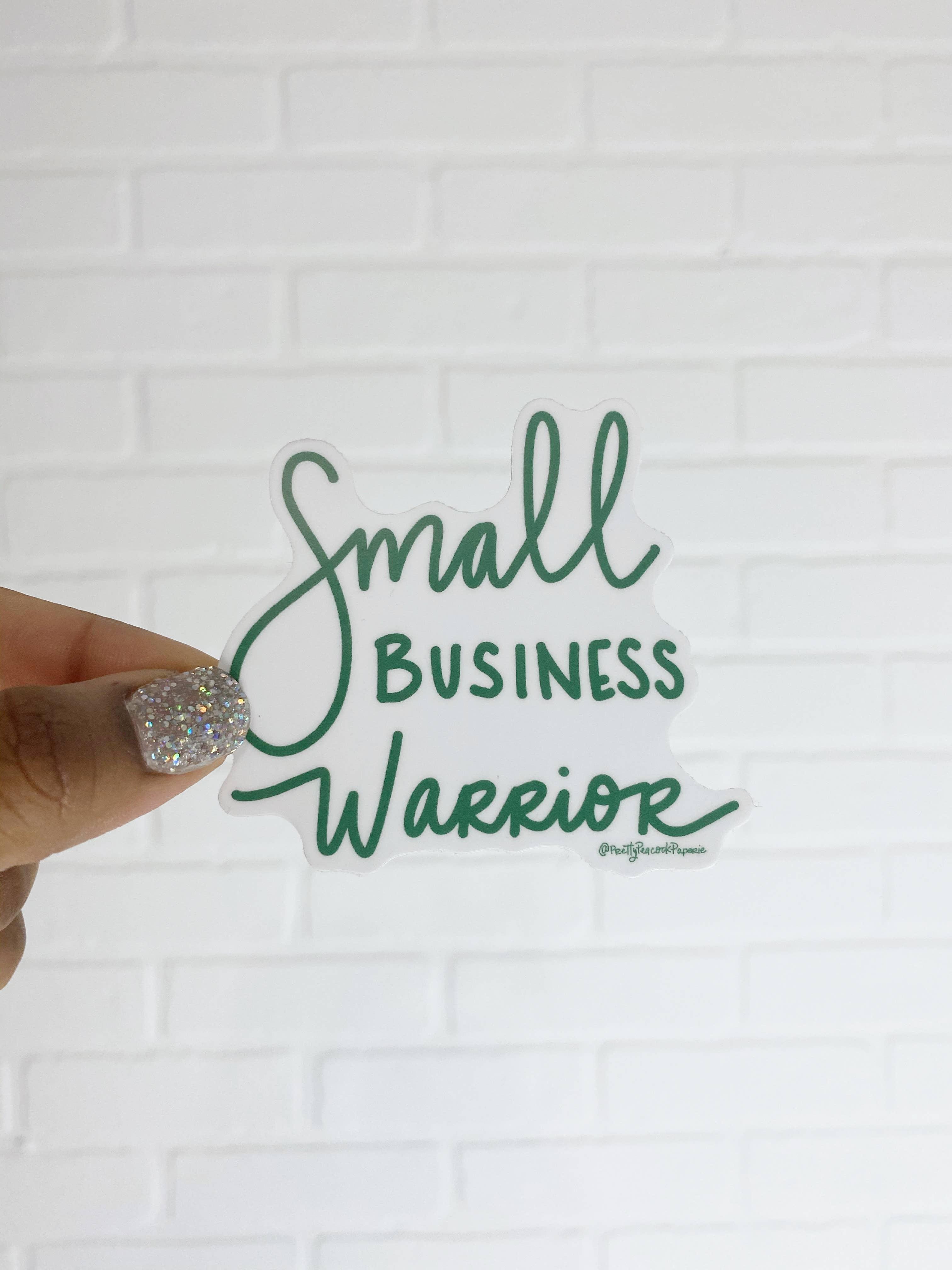 Small Business Warrior Sticker | Trada Marketplace