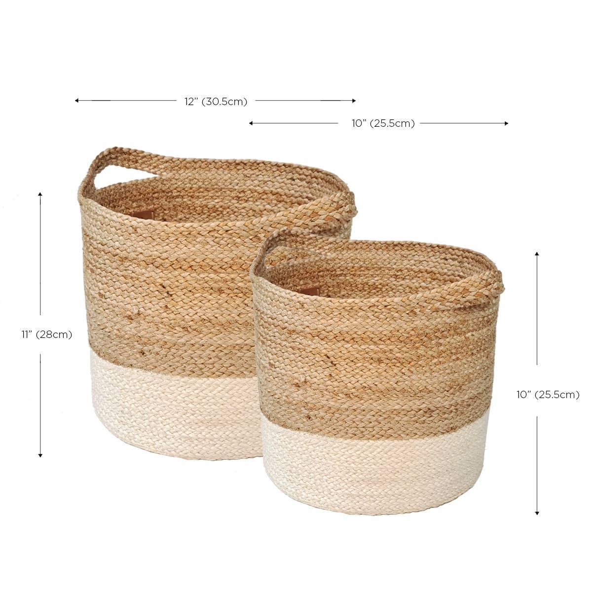 Kata Colorblock basket (Set of 2) | Trada Marketplace