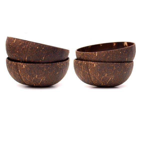 Coconut Bowls - Natural Finish   Trada Marketplace