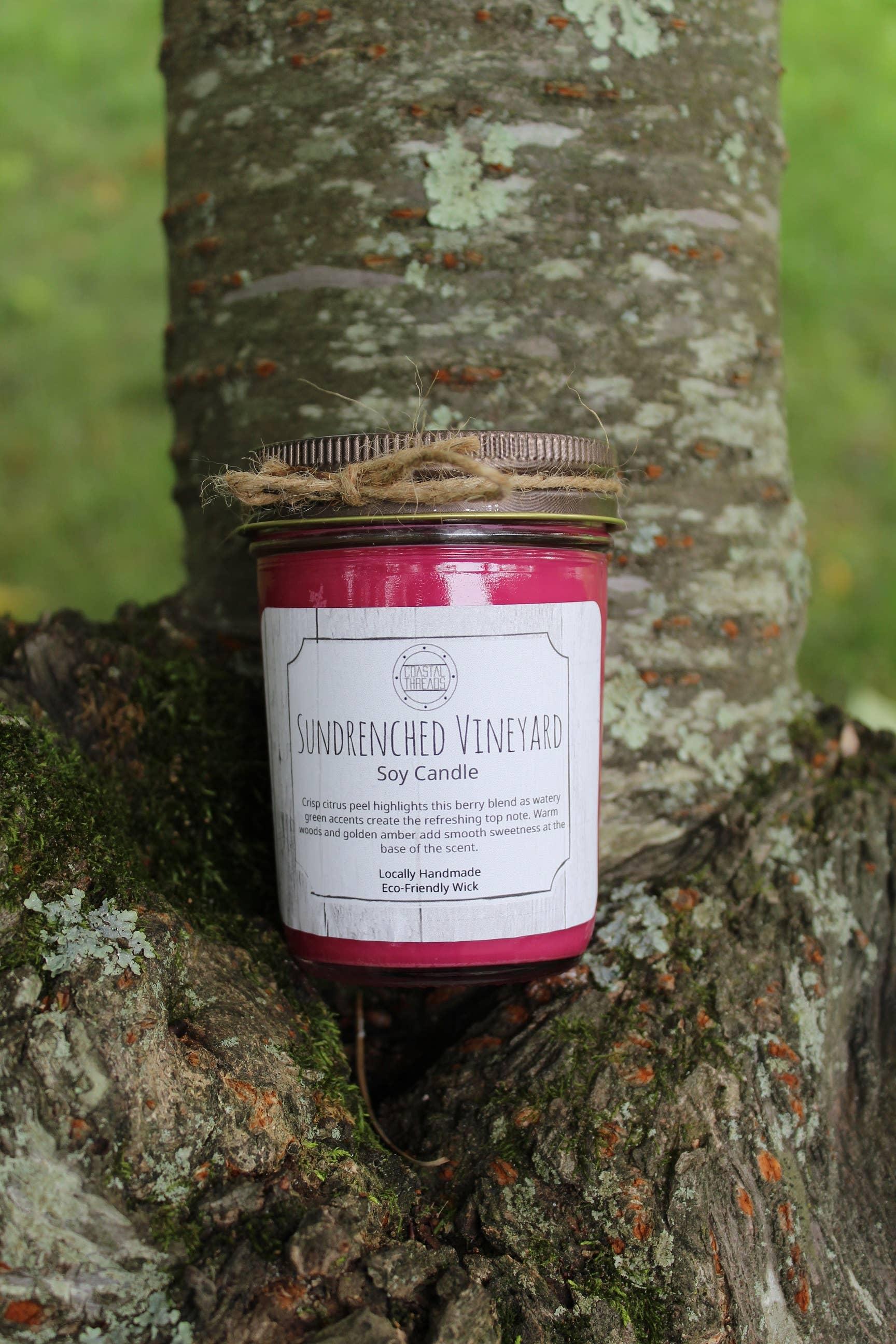 Sundrenched Vineyard Soy Candle | Trada Marketplace