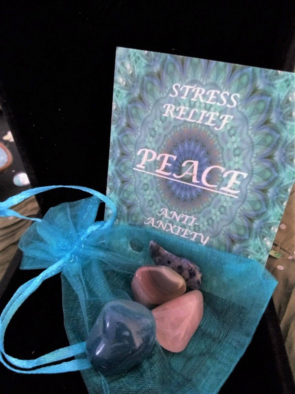 Peace Crystal Healing Bag | Trada Marketplace
