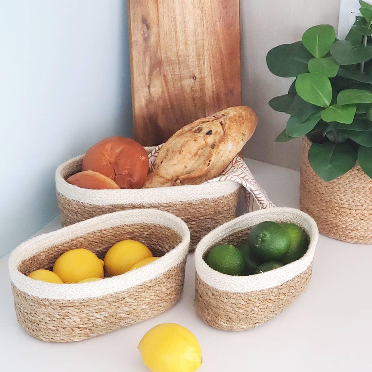 Savar Oval Bowl (Set of 3) | Trada Marketplace