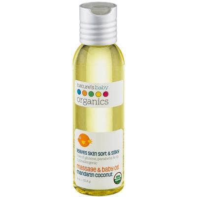 Organic Baby Oil Mandarin Coconut 4 oz | Trada Marketplace