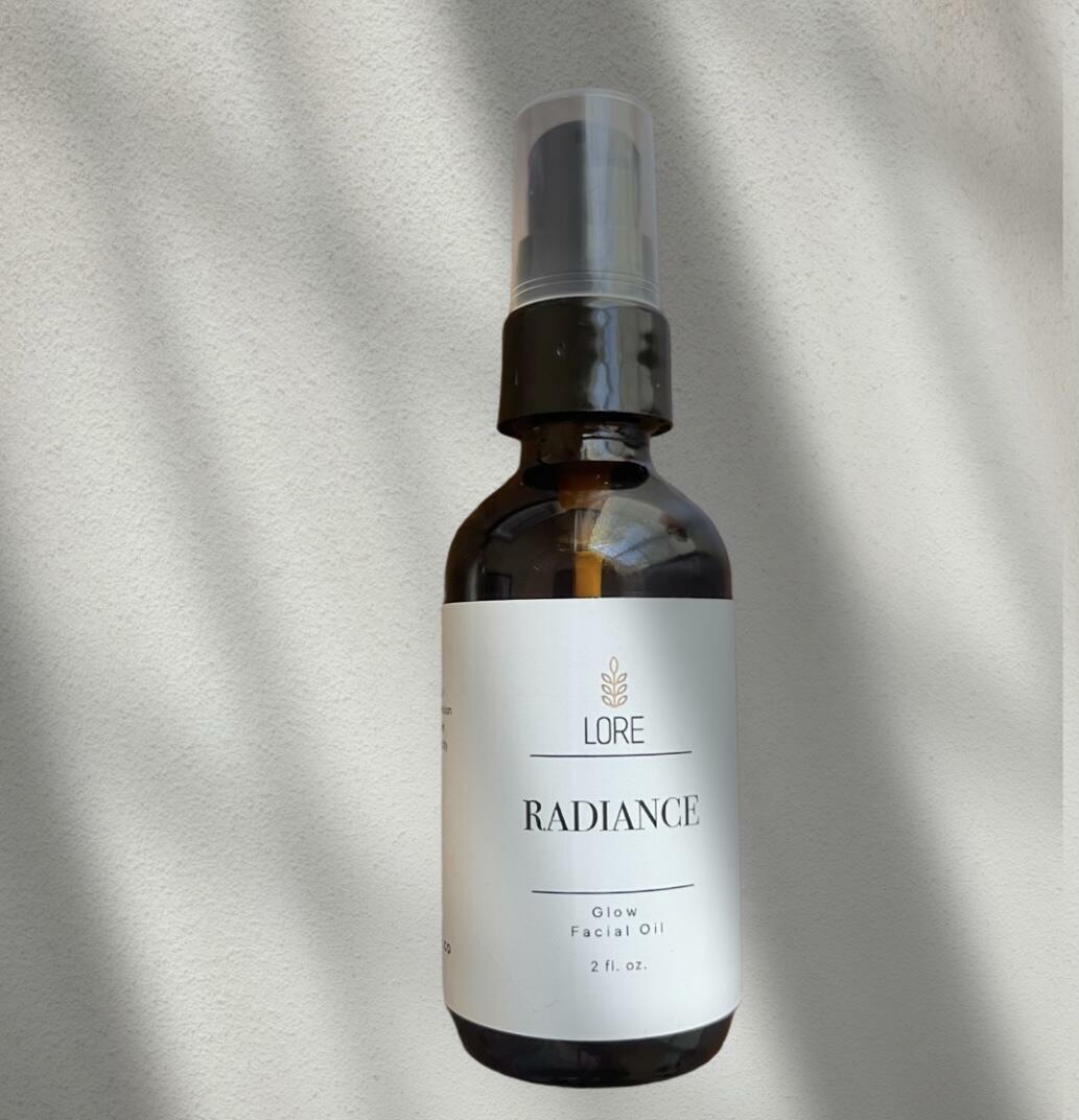 Radiance Facial Oil 2oz   Trada Marketplace