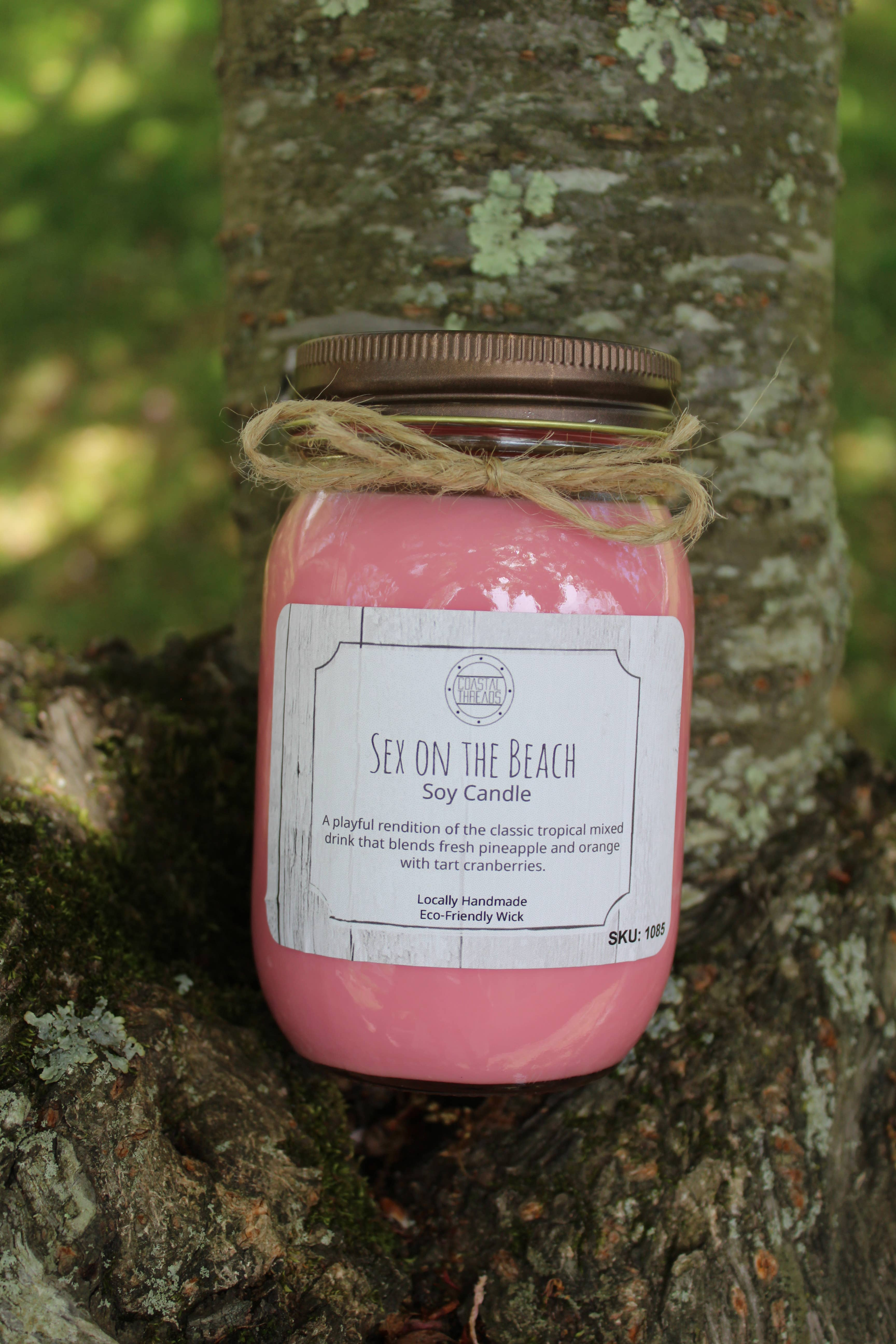Sex On The Beach Soy Candle | Trada Marketplace