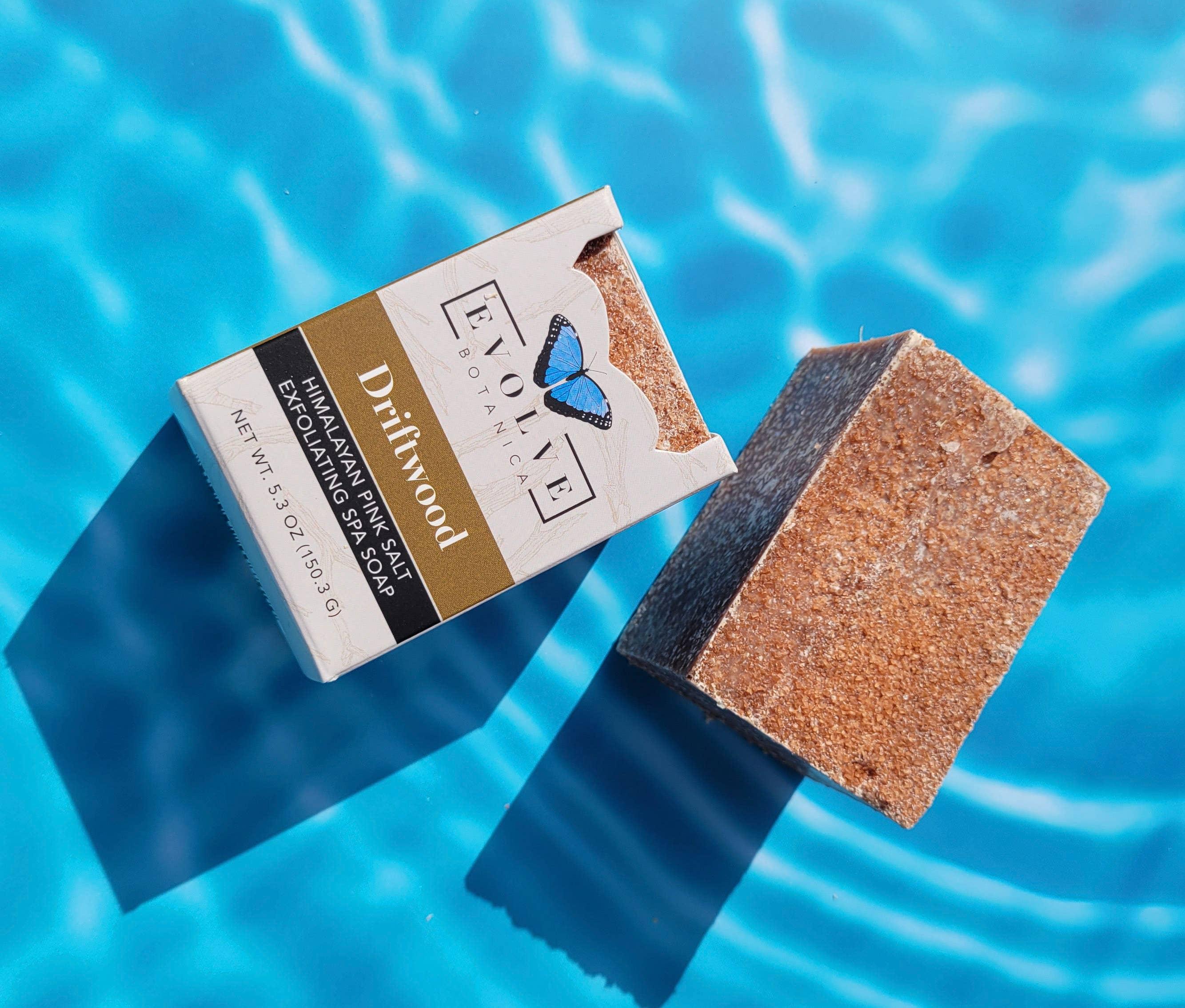 Evolve - Specialty Soap - Driftwood Salt Bar | Trada Marketplace