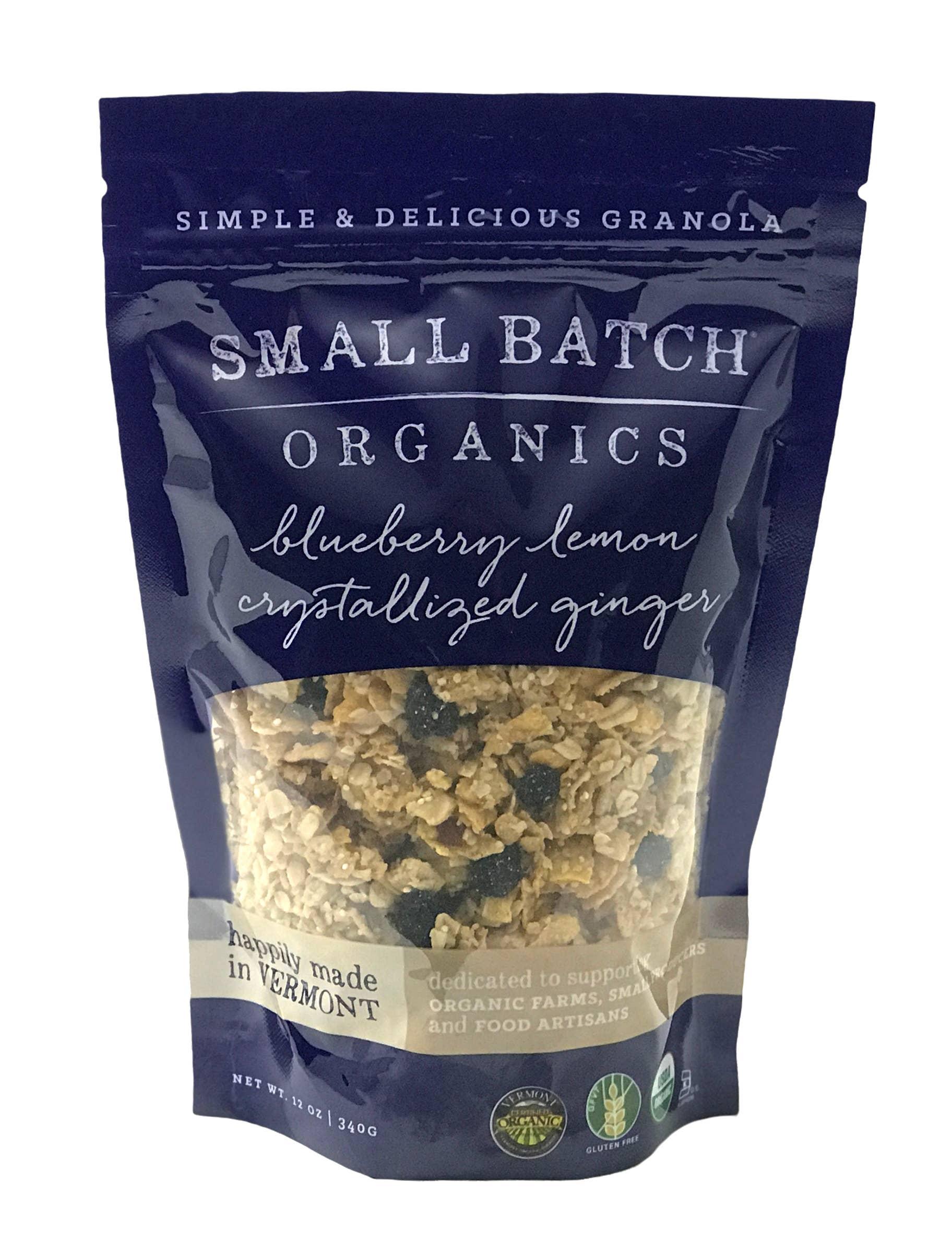 12oz Blueberry Lemon Crystallized Ginger Granola | Trada Marketplace