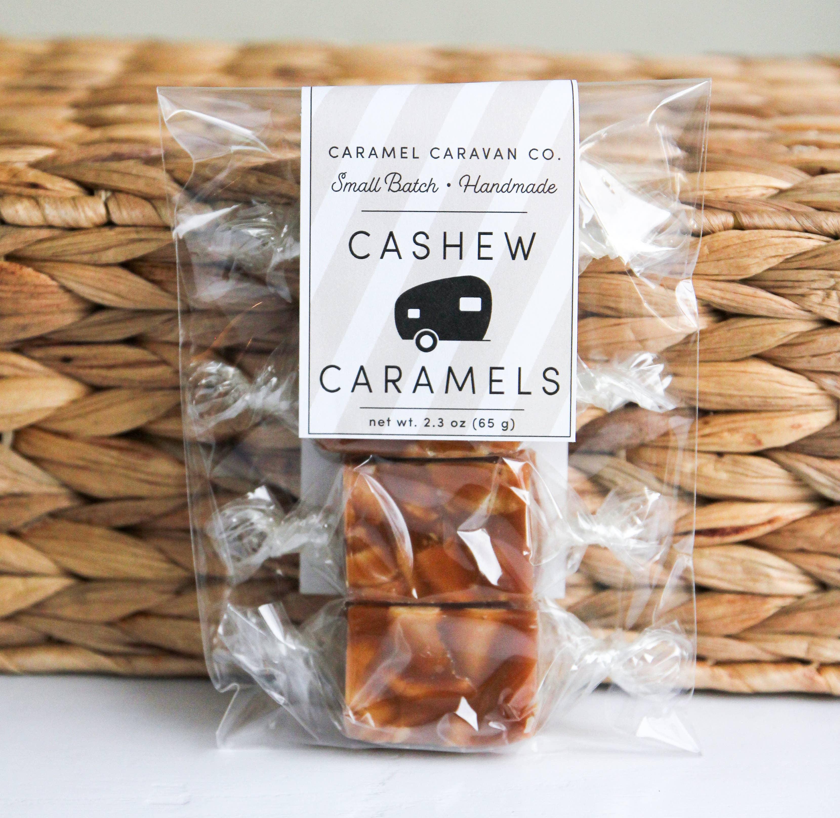 Cashew Caramels - 4 Piece Bag | Trada Marketplace