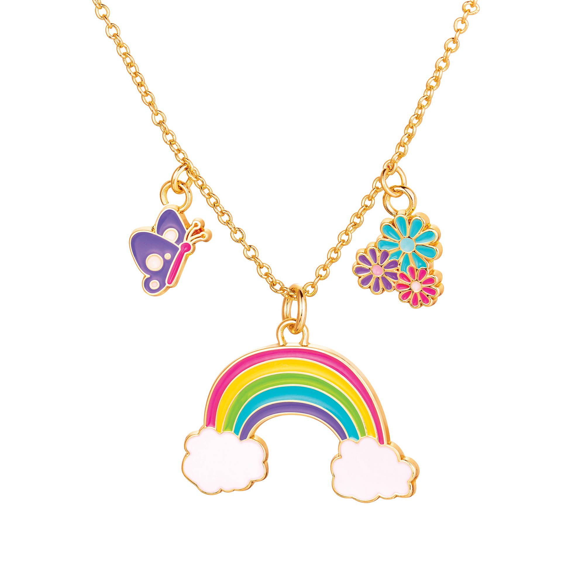 Charming Whimsy Necklace- Cloud Luvs Rainbow | Trada Marketplace