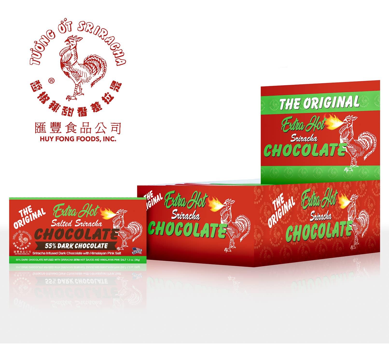 1.3 oz Extra Hot 55% Chocolate Bar   Trada Marketplace