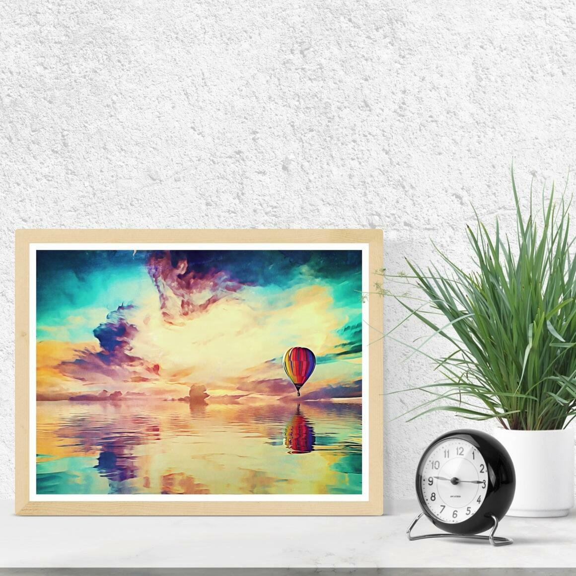 """Floating Away"" Fine Art Print | Trada Marketplace"
