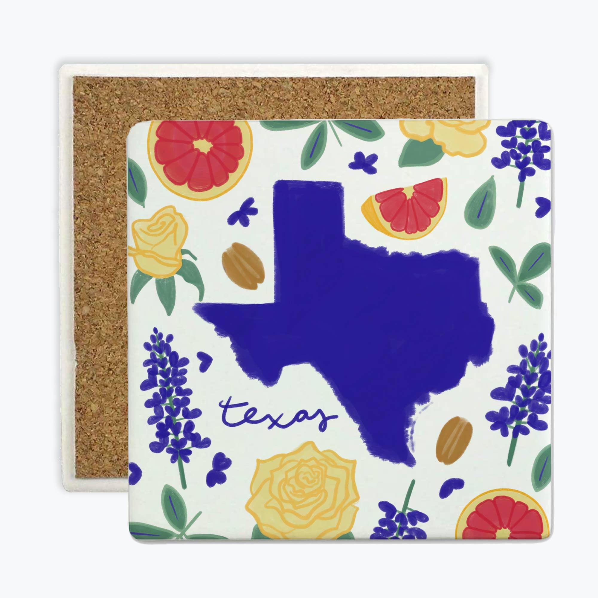 Texas Fresh State - Coasters   Trada Marketplace