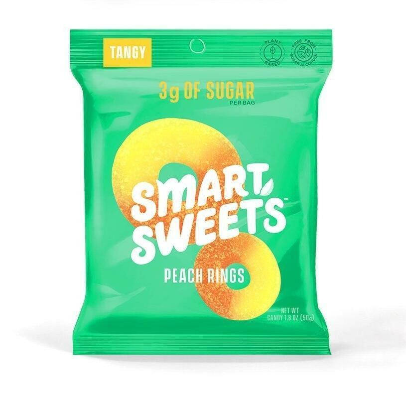 SmartSweets Peach Gummy Rings | Trada Marketplace