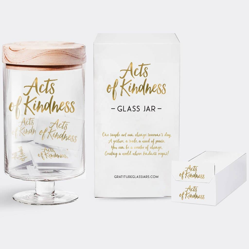 Acts Of Kindness Glass Jar | Trada Marketplace