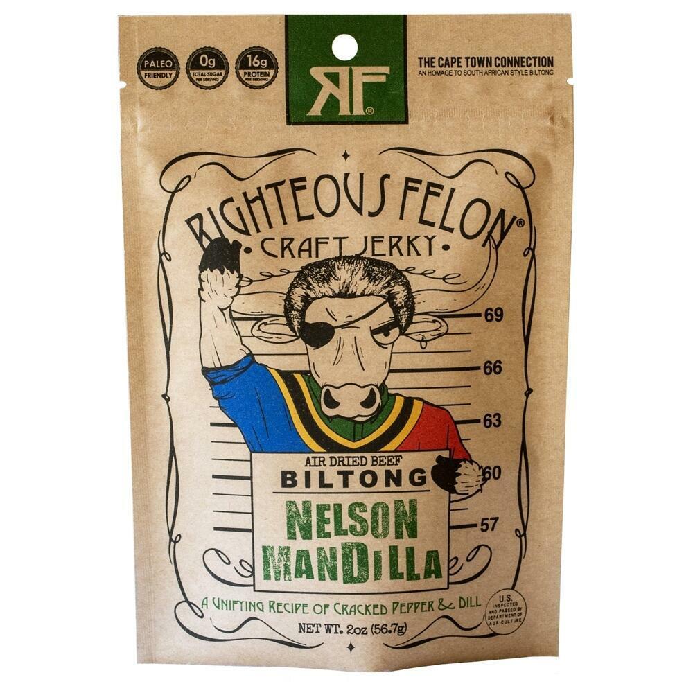 Nelson Mandilla Biltong 2oz (8ct) | Trada Marketplace