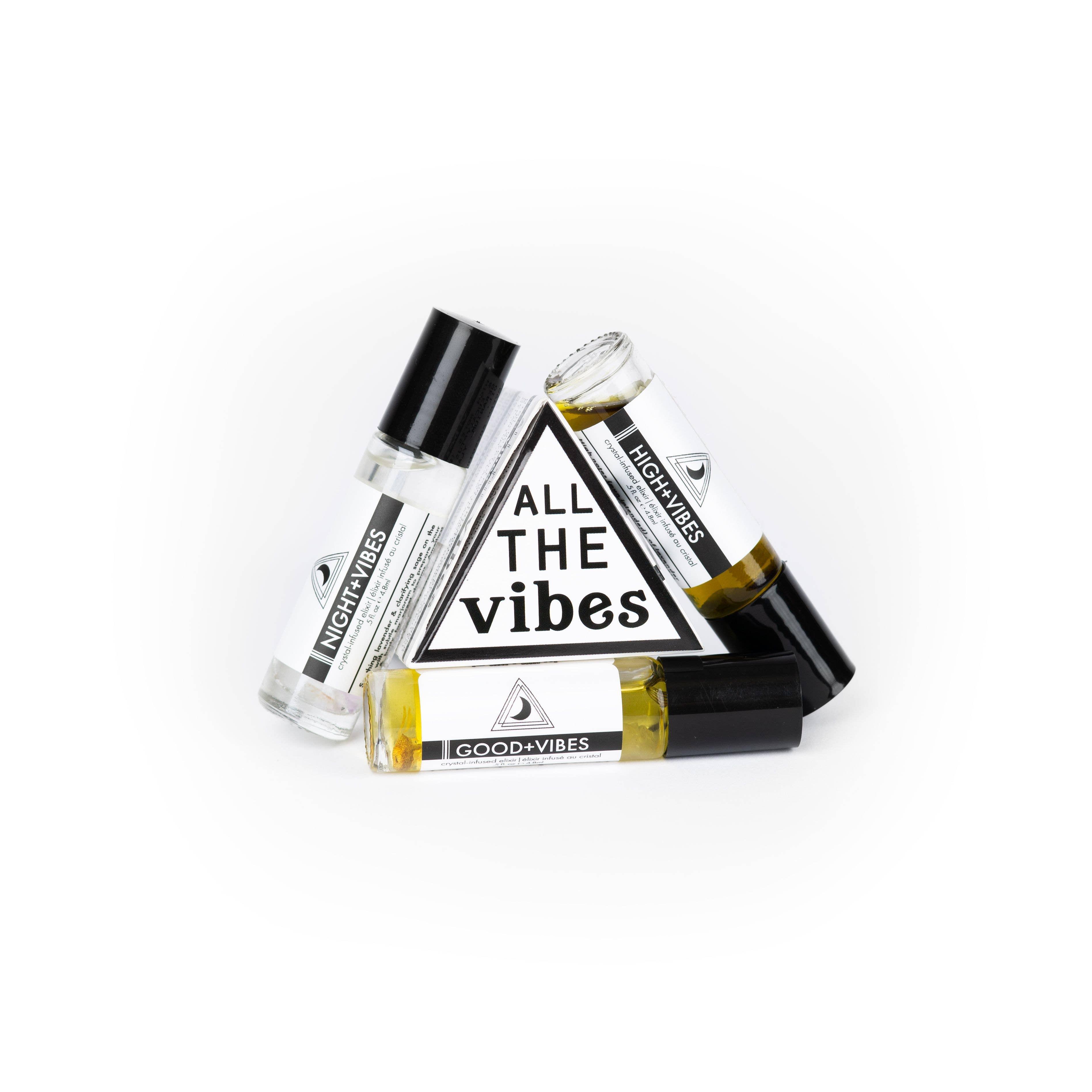 All The Vibes Oil Trio | Trada Marketplace