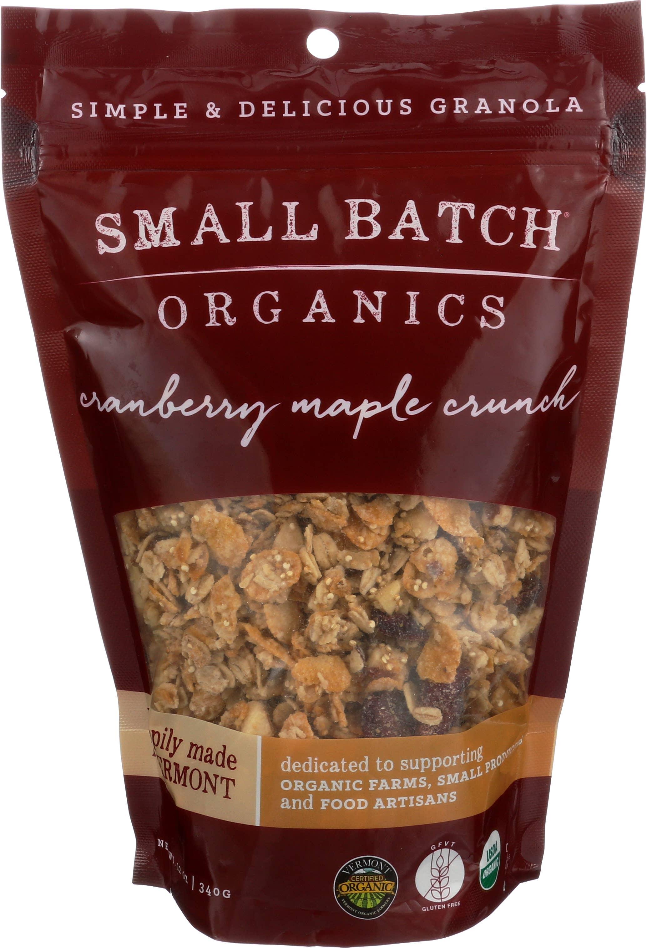 12oz Cranberry Maple Crunch Granola | Trada Marketplace