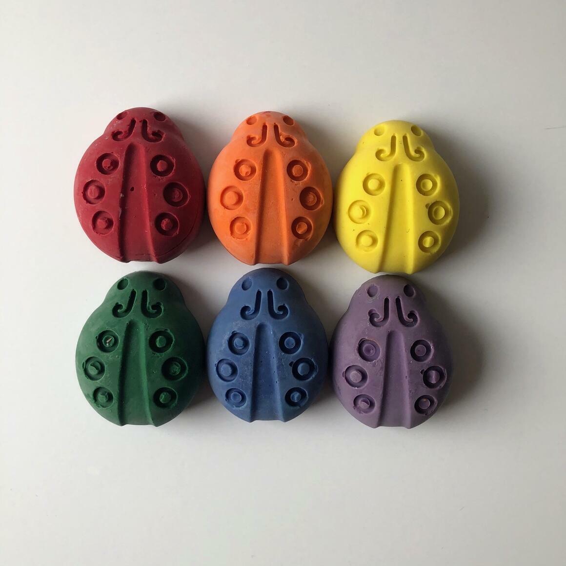 Ladybug Eco-Friendly Crayons | Trada Marketplace