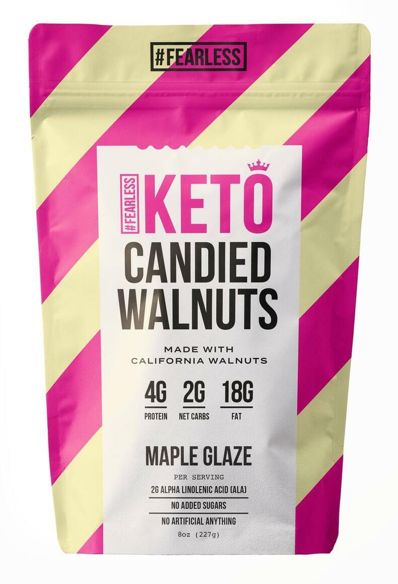 Candied Walnuts - Maple Glaze   Trada Marketplace
