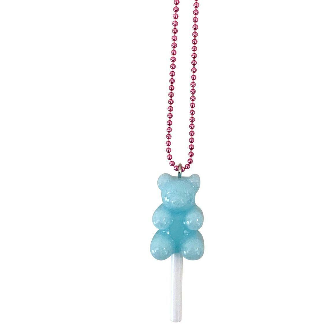 Ltd. Pop Cutie Gummy Bear Lollipop Kids Necklace | Trada Marketplace