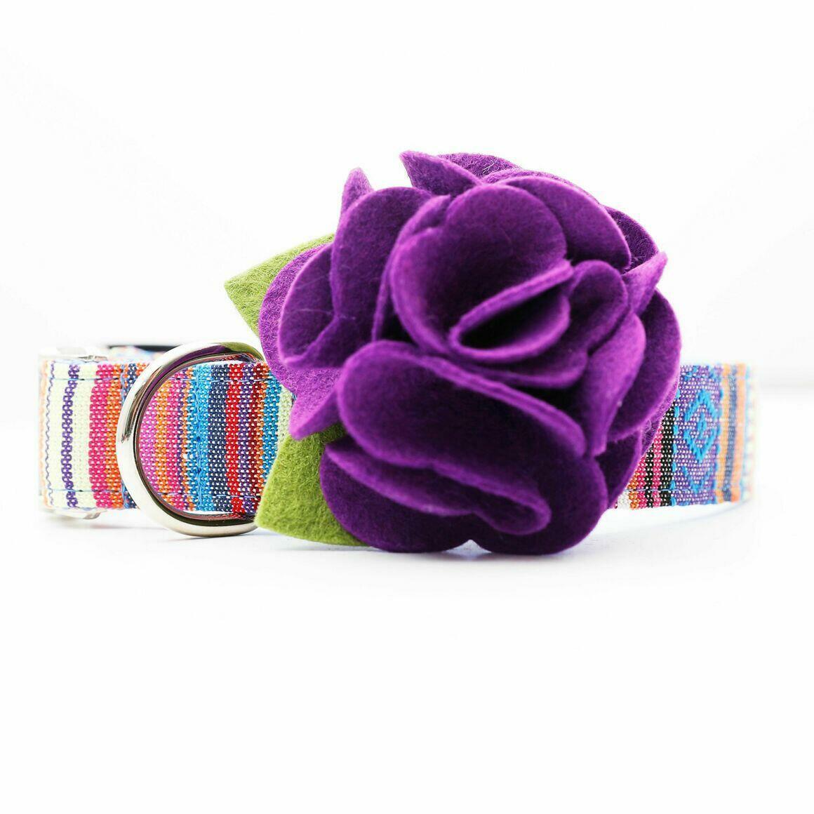 Dog Collar Hydrangea Flower - Purple Rain   Trada Marketplace