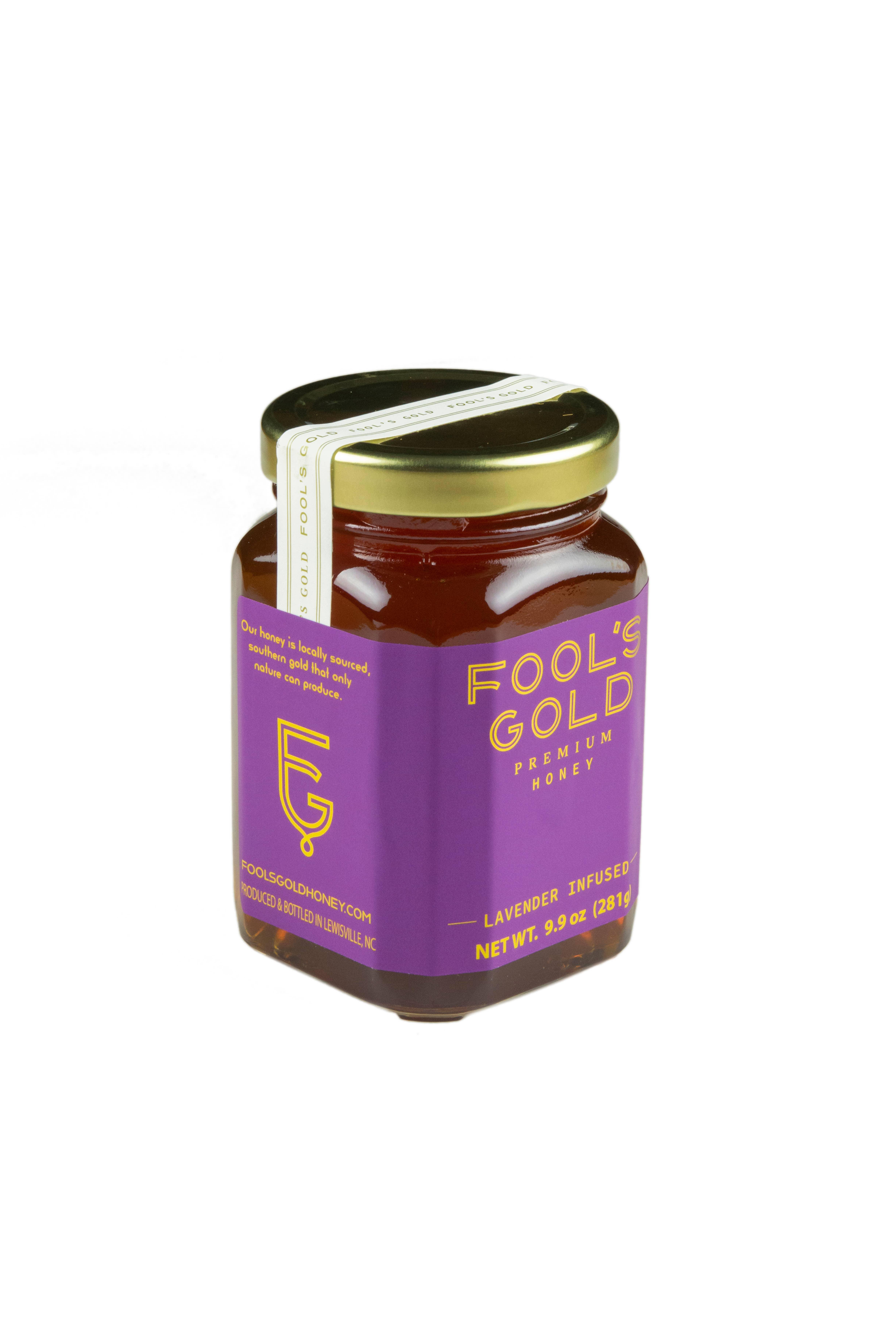 9.9oz Lavender Infused Honey | Trada Marketplace