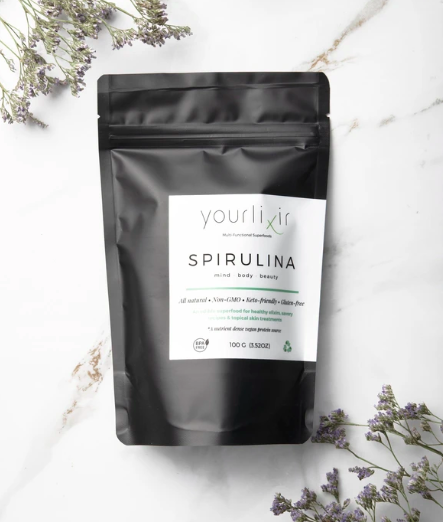 Organic Spirulina Beauty & Wellness Powder   Trada Marketplace
