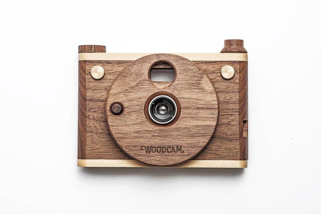 Single-Lense Wooden Digtial Camera-Vintage One   Trada Marketplace