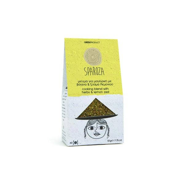Sparoza - Handcrafted Cooking Blend With Herbs & Lemon Zest | Trada Marketplace